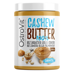 OstroVit 100% Cashew Butter 1000 g - Smooth